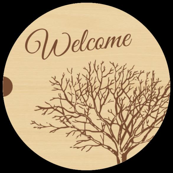 tervetuloa kyltti kuin Puukyltti
